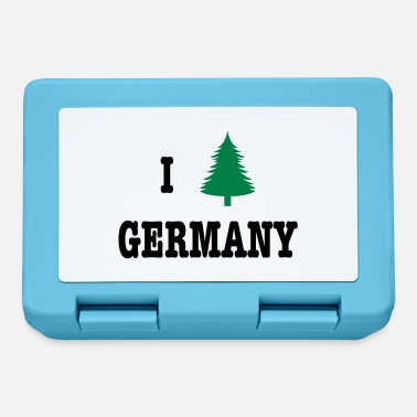 I Love Germany I heart Germany - Fiambrera