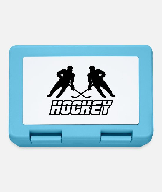 Floor Hockey Lunchboxes - hockey - Lunchbox sapphire blue