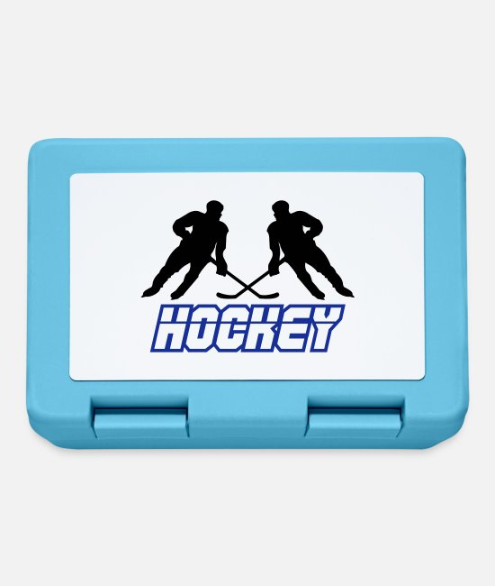 Floor Hockey Lunchboxes - hockey 02 - Lunchbox sapphire blue