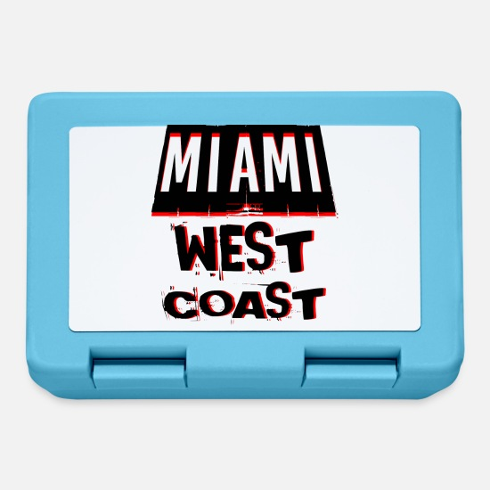 West Coast Lunchboxes - MIAMI WEST COAST - Lunchbox sapphire blue