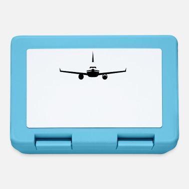 Airplane Silhouette Airplane silhouette - Lunchbox