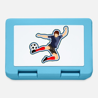 Football Footballer Football Design - Lunchbox
