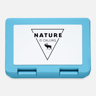 Nature Nature lover - Nature is calling - Lunchbox