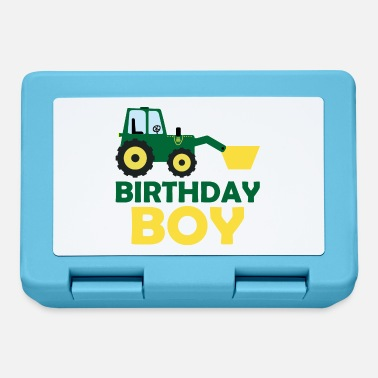 Brother Of Birthday Boy Tractor Birthday Boy Birthday for boys boys - Lunchbox