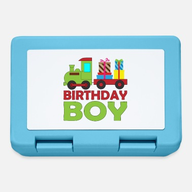 Brother Of Birthday Boy Railway steam train birthday for boy brother - Lunchbox