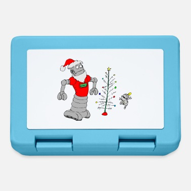 Secret Santa Santa Claus robot - Lunchbox