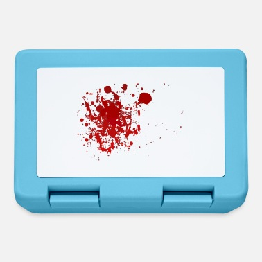 Blood Splatter Blood splatter splatter Halloween blood spatter - Lunchbox