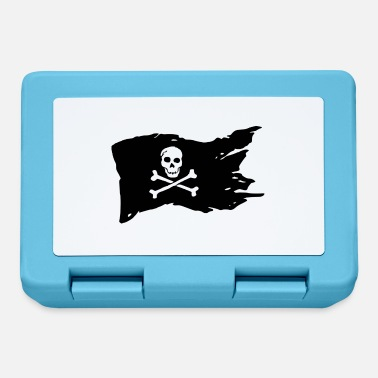 Pirate Flag Pirate Flag Skull Pirate - Lunchbox