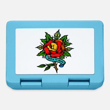 Pinup rose tattoo - Lunchbox