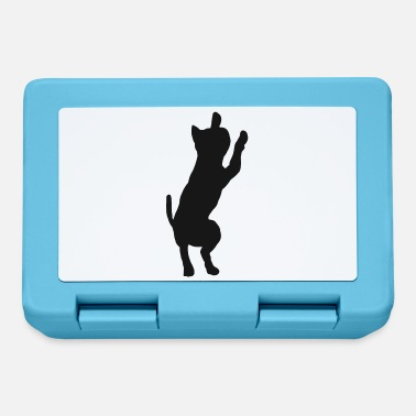 House Tiger Cat kitty cats silhouette house tiger - Lunchbox