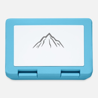 Mountain Hiking Mountain hiking mountain range mountaineering mountains hike - Lunchbox