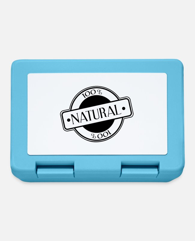 Nature Lunchboxes - natural - Lunchbox sapphire blue