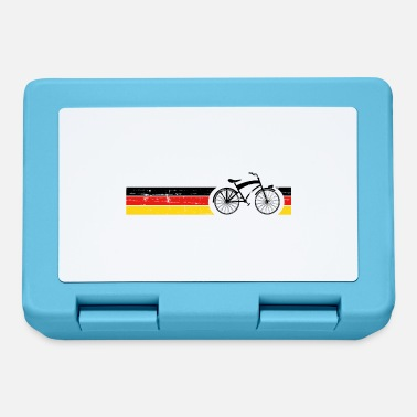 National Cykel nationale farver National Germany Gift - Madkasse