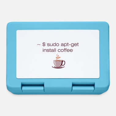 Admin Sudo apt-get install coffee Linux computer scientist - Lunchbox