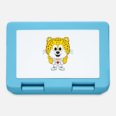 Children Leopard - Doctor - Children - Gifts - Comic - Lunchbox