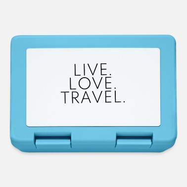 Travel Live Love Travel -suunnittelu Travel Travel Black - Eväsrasia