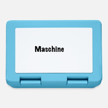 Machine machine - Lunchbox
