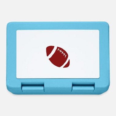Rugby Player Football Gift Sports Club Hobby Score Train - Lunchbox