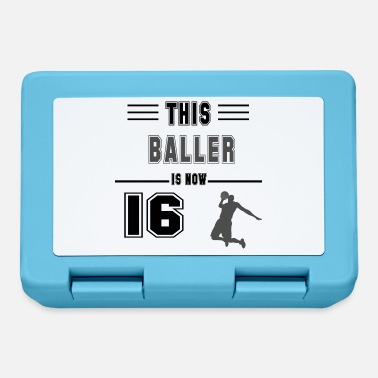 Dance Sport Birthday gift for 16 years old basketball lovers f - Lunchbox