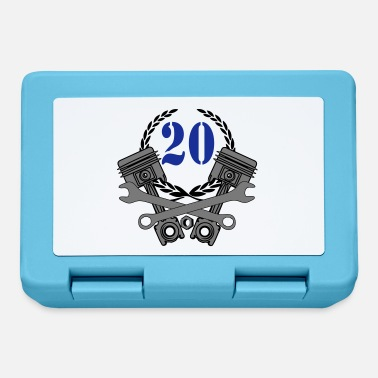 20th 20th birthday mechanic ... / + - Lunchbox