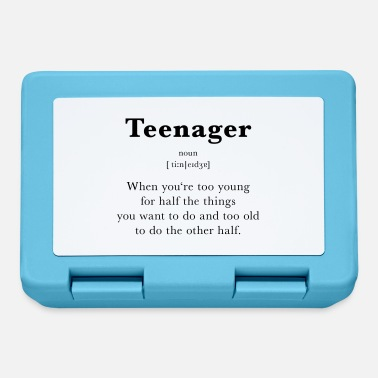 Teenager Teenager - Brotdose