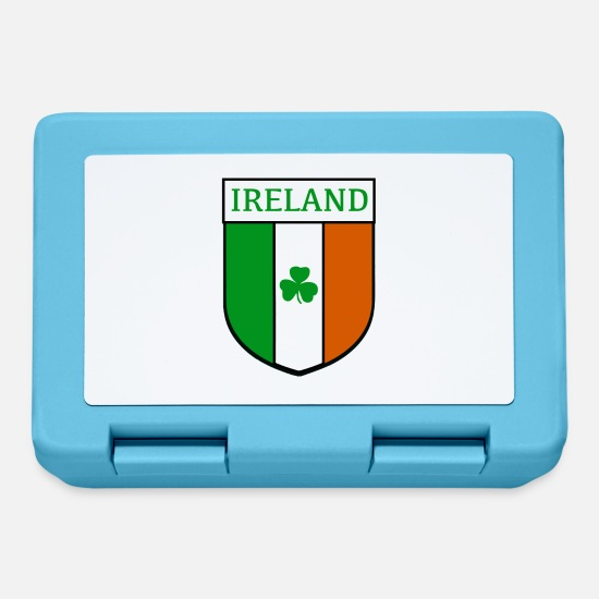 Irish Lunchboxes - ireland hemblem - Lunchbox sapphire blue