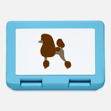 Standard Standard Poodle (Brown) - Lunchbox