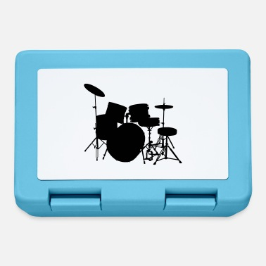 Drumset music drumset drum - Lunchbox