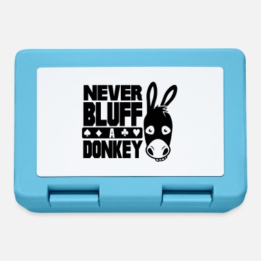 Bluff Poker: Never bluff a donkey - Matboks