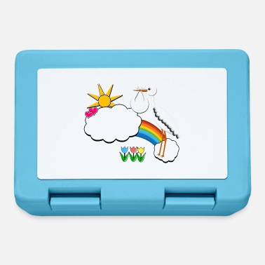 Stork Baby birth name - Baby name in cloud at stork - Lunchbox