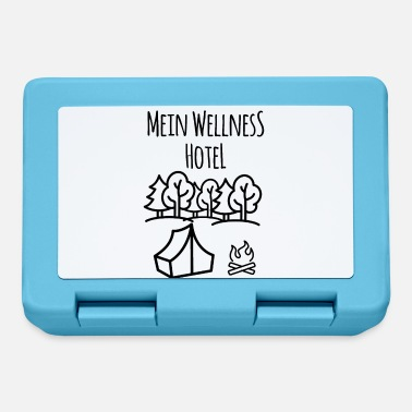 Tent bonfire forest wellness hotel gift idea - Lunchbox