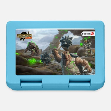 Schleich Eldrador Creatures stone world lunch box - Lunchbox