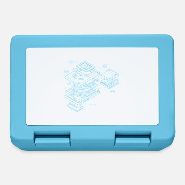 Blueprint Retro handheld blueprint - retrogaming for your shirt - Lunchbox