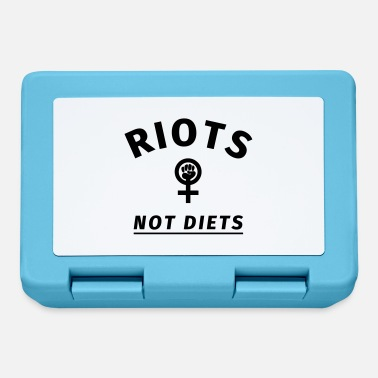 Rioting Riots not Diets - Lunchbox