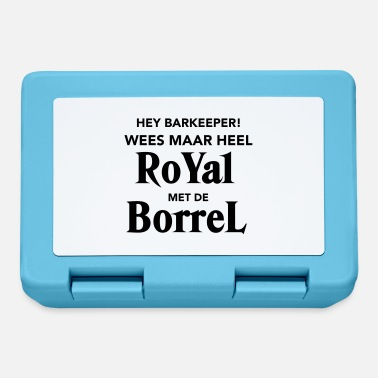Borrel Royal met de Borrel - Broodtrommel