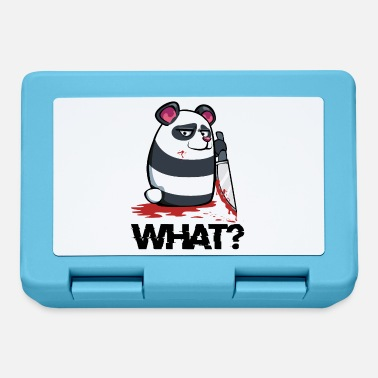 Sloth What? Panda knife Funny sloth gift - Lunchbox