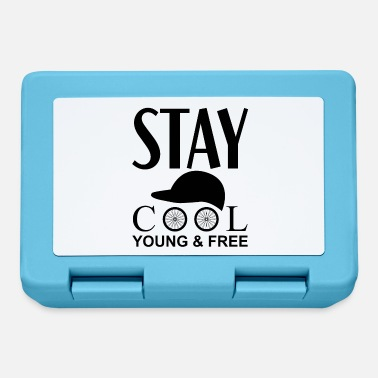 Stay Young Stay cool young & free cycling - Lunchbox