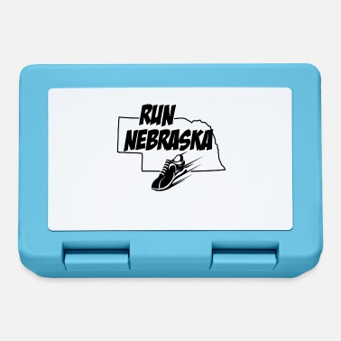 Sprinting Running design Run Nebraska Runners product - Lunchbox