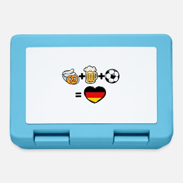 National Team Germany national team soccer team fan - Lunchbox