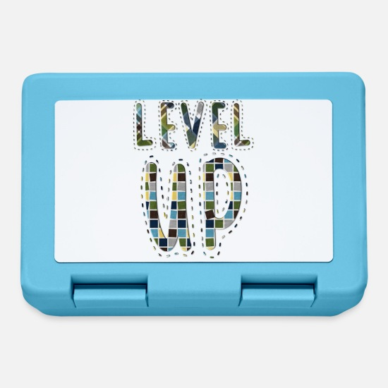 Game Lunchboxes - Level up - Lunchbox sapphire blue