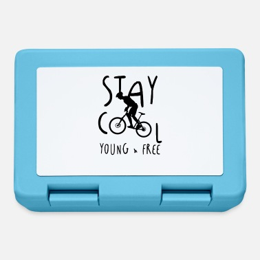 Stay Young Stay calm, young and free mountain bike - Lunchbox