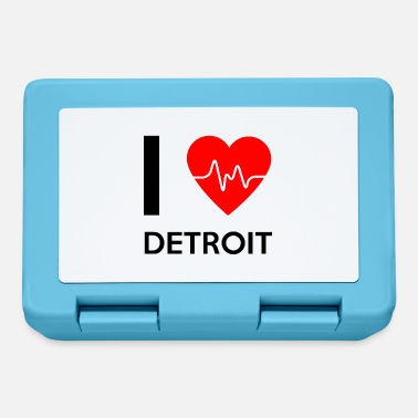 Detroit Amo Detroit - amo Detroit - Lunch box