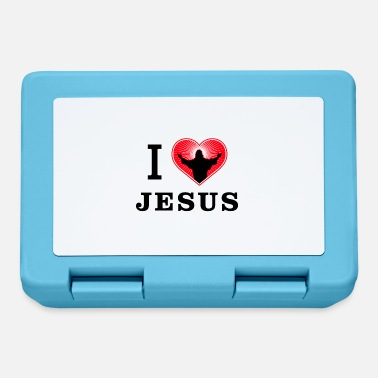 Christianity I Love Jesus - Christianity - Lunch box