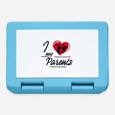 Parent I love my parents / parents - Lunchbox