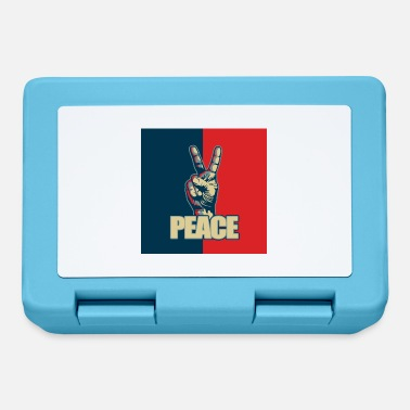 Hand Sign Peace hand sign - Lunchbox