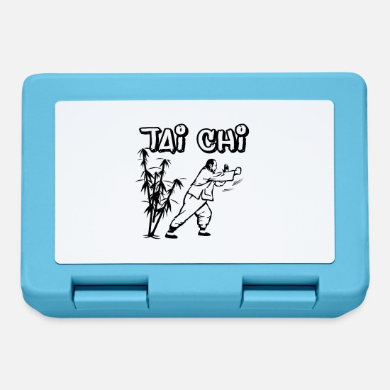 Gift Idea Lunchboxes - Tai chi - Lunchbox sapphire blue