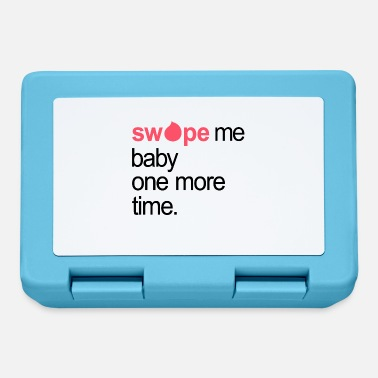 Nineties Swipe me baby one more time lyrics gift idea - Lunchbox
