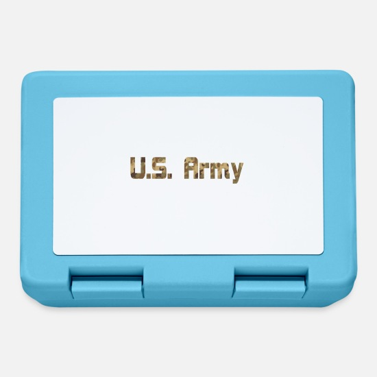 Army Reserve Lunch boxes - Scritte militari dell'esercito americano - Lunch box blu zaffiro