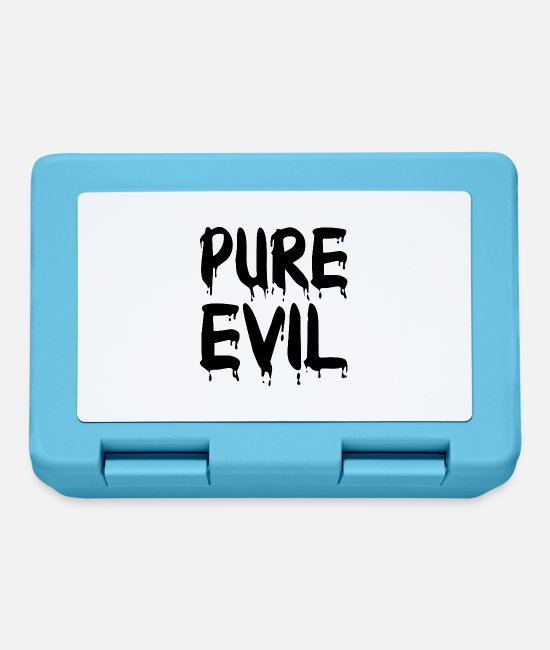 Blood Lunchboxes - The pure evil - Lunchbox sapphire blue