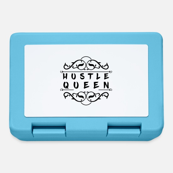 Stress Lunchboxes - Hustle Queen - Lunchbox sapphire blue